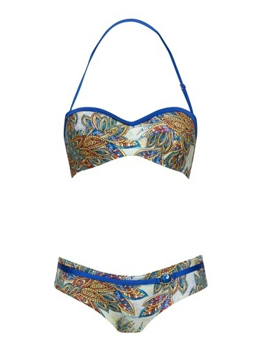 Marc & Andre Bikini Alt Mavi